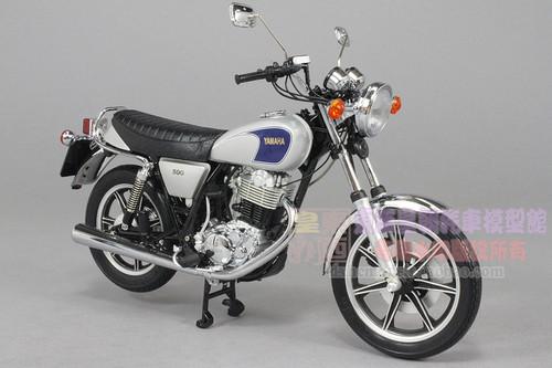 1/10 Schuco YAMAHA SR 500 SR500 MOTORCYCLE Diecast Model
