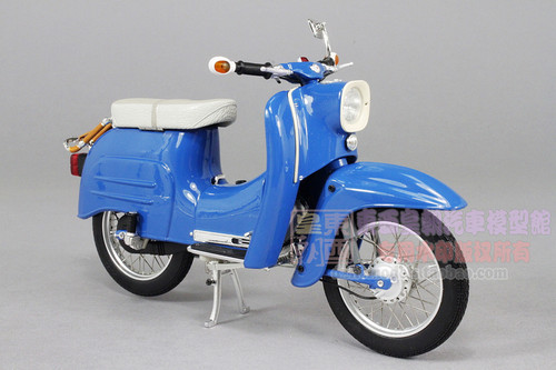 1/10 1964 SIMSON SCHWALBE KR51/1 (BLUE) MODEL
