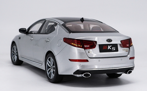 1/18 Dealer Edition 2014 KIA OPTIMA / K5 (Silver) Diecast Car Model