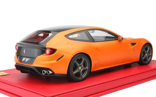 1/18 BBR Ferrari FF (Orange w/ Black Stripe) Resin Car Model Limited 20 Pieces