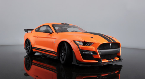 1/18 2020 Ford Mustang Shelby GT500 (Blue) Diecast Car ...