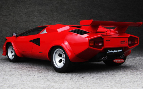 KYOSHO 1/12 LAMBORGHINI COUNTACH LP500S (RED) DIECAST MODEL!