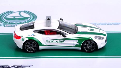 1 64 Aston Martin One 77 Police Car Of Dubai Diecast Model Car By Time Model Livecarmodel Com