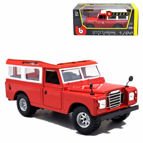 1/24 Bburago Land Rover Defender Series II Diecast Car Model