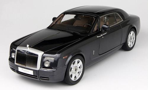 1/18 KYOSHO ROLLS-ROYCE PHANTOM COUPE (Darkest Tungsten) Diecast Car Model