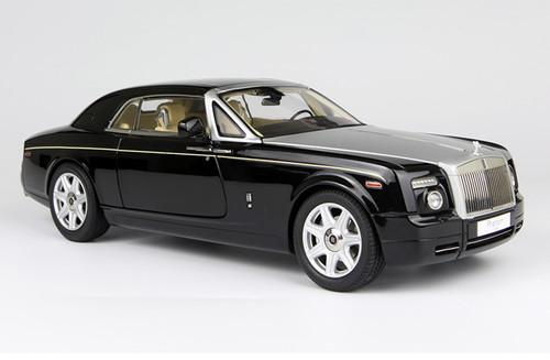 1/18 KYOSHO ROLLS-ROYCE PHANTOM COUPE (DIAMOND BLACK) Diecast Car Model