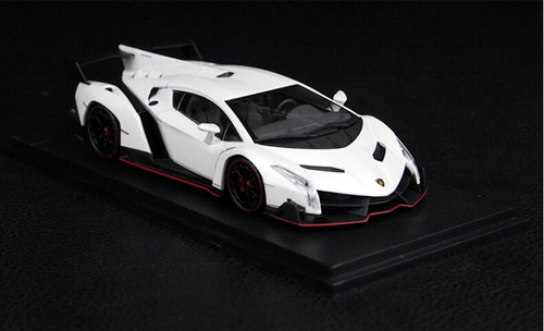 1/43 Kyosho Lamborghini Veneno (White)
