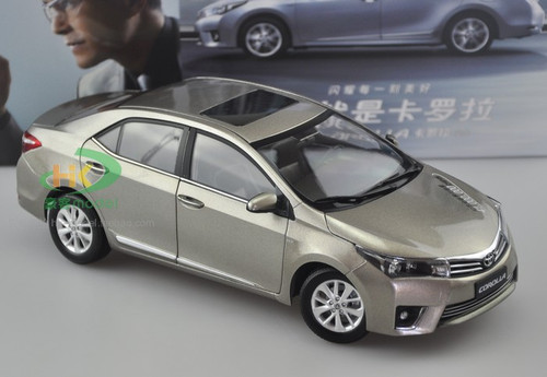 1/18 Dealer Edition Toyota Corolla (Champagne) Diecast Car Model