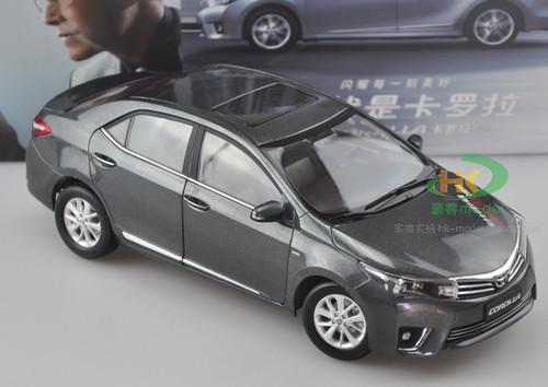 1/18 Dealer Edition Toyota Corolla (Grey) Diecast Car Model