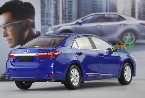 1/18 Dealer Edition Toyota Corolla (Blue) Diecast Car Model