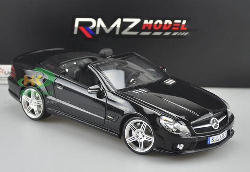 1/18 RMZ MERCEDES-BENZ SL63 AMG Convertible (BLACK) Diecast Car Model