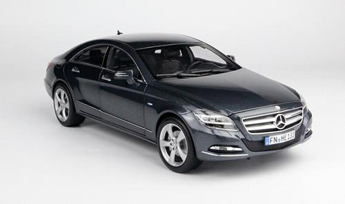 1/18 Norev Mercedes-Benz CLS-Class (Metallic Grey) Diecast Car Model
