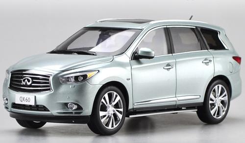 1/18 Dealer Edition 2014 Infiniti QX60 (Blue) Diecast Car Model