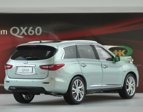 1/18 Dealer Edition 2014 Infiniti QX60 (Blue) Diecast Car Model