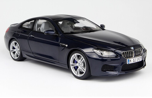 1/18 Paragon BMW M6 (F13) Coupe Hardtop (Dark Blue) Diecast Car Model