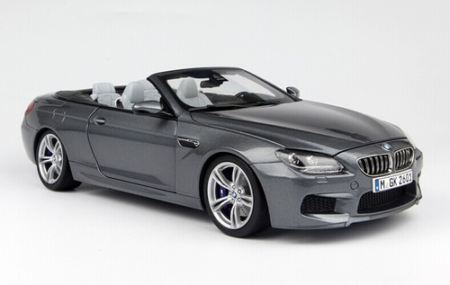 1/18 Paragon BMW M6 (F13) Coupe Convertible (Grey) Diecast Car Model
