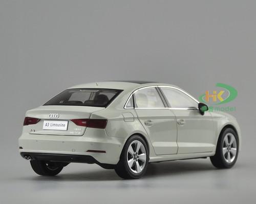 1/18 Dealer Edition AUDI A3 Sedan (WHITE) DIECAST CAR MODEL