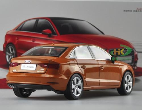 1/18 Dealer Edition AUDI A3 Sedan (Orange) DIECAST CAR MODEL