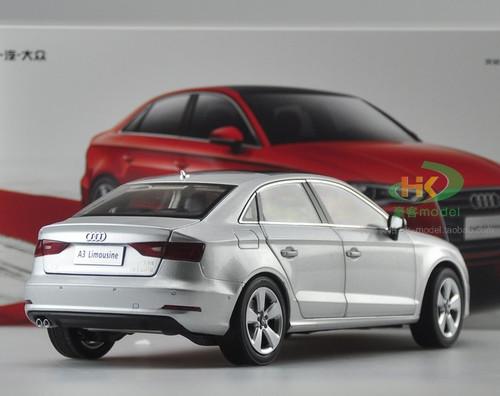 1/18 Dealer Edition AUDI A3 Sedan (Silver) DIECAST CAR MODEL