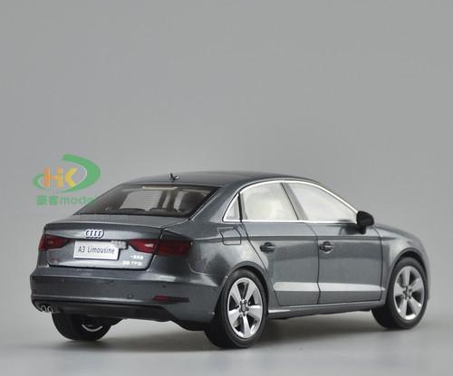 1/18 Dealer Edition AUDI A3 Sedan (Grey) DIECAST CAR MODEL