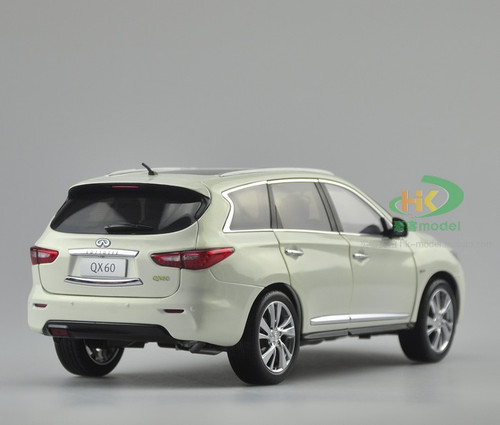 1/18 Dealer Edition 2014 Infiniti QX60 (White) Diecast Car Model