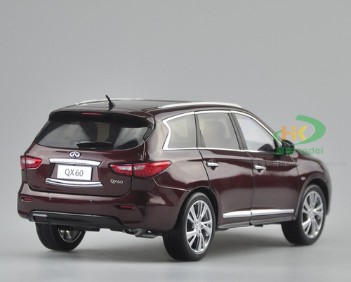 1/18 Dealer Edition 2014 Infiniti QX60 (Wine Red) Diecast Car Model