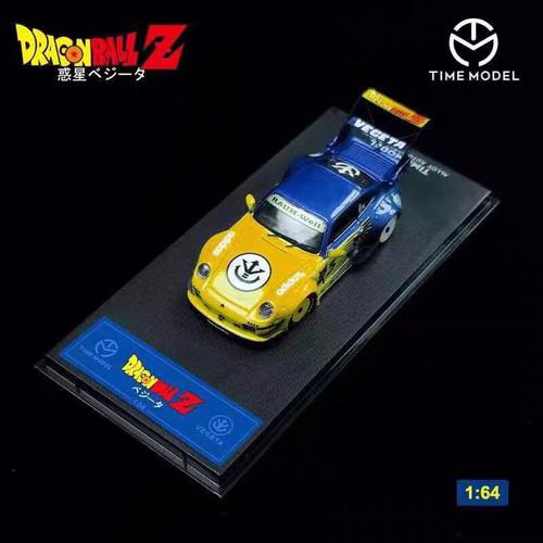 1/64 Time Model Porsche 911 993 RWB Dragon Ball Edition Car Model