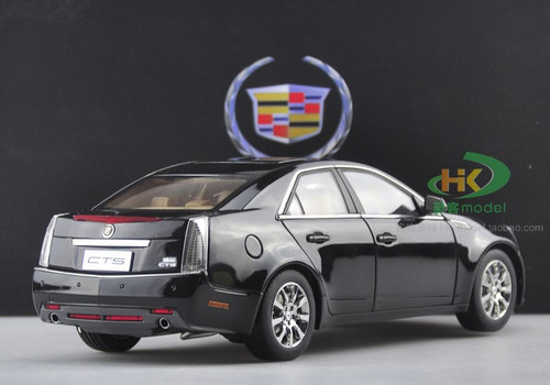 1/18 Kyosho Cadillac CTS Sedan (Black) Diecast Car Model