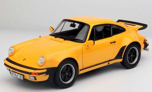 1:18 NOREV PORSCHE 911 Turbo 3.3 noir schwarz limited Edition 1000 NEU NEW