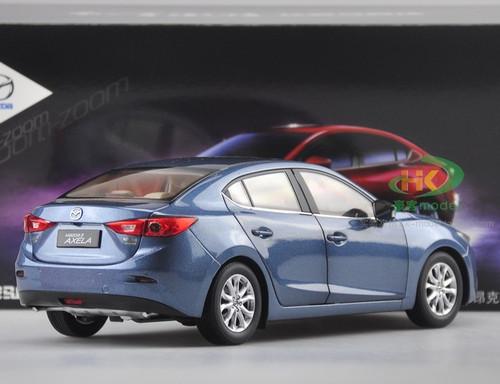 1/18 Dealer Edition MAZDA 3 Axela Sedan (Blue) Diecast Car Model