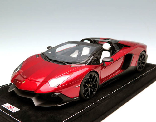 MR 1/18 Handmade Lamborghini Aventador LP720-4 (Metallic Red)