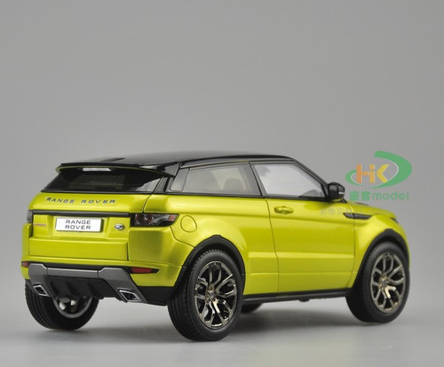 1/18 Range Rover Evoque (Yellow)