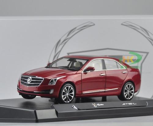 1/18 Dealer Edition Cadillac ATS (Red) Diecast Car Model