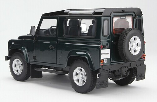 1/18 Kyosho Land Rover Defender (Dark Green)