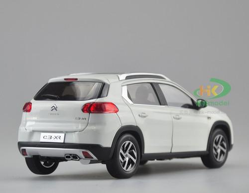 1/18 Dealer Edition Citroen C3-XR (White) Diecast Car Model