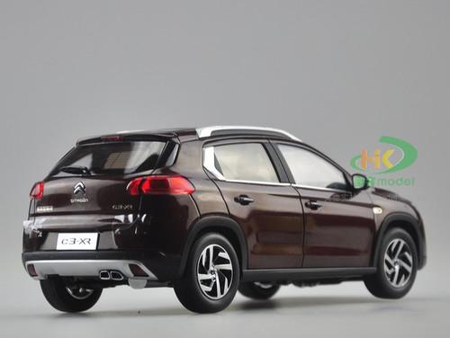1/18 Dealer Edition Citroen C3-XR (Brown Red)