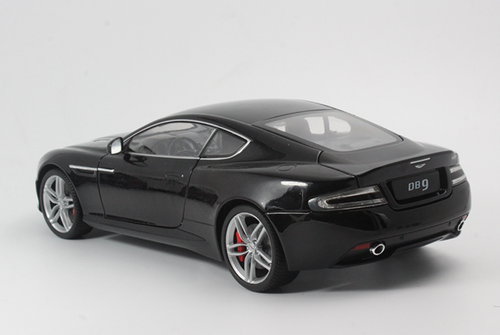 1/18 Welly FX Aston Martin DB9 Coupe (Black) Diecast Car Model