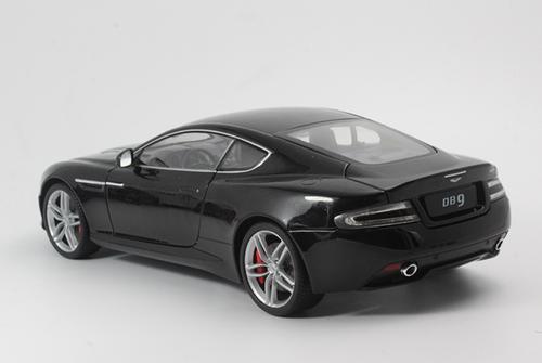 1/18 Welly FX Aston Martin DB9 Coupe (Black) Diecast Car Model