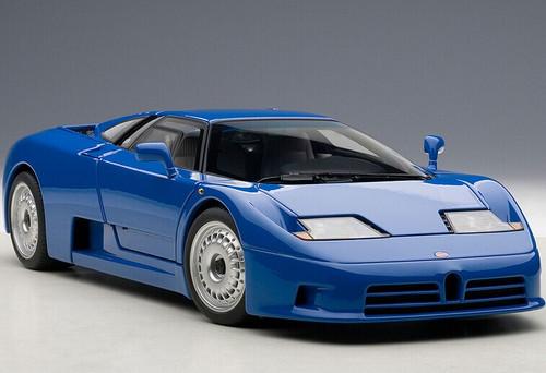 1/18 AUTOart Signature Bugatti EB110 GT (Blue) Diecast Car Model 70976
