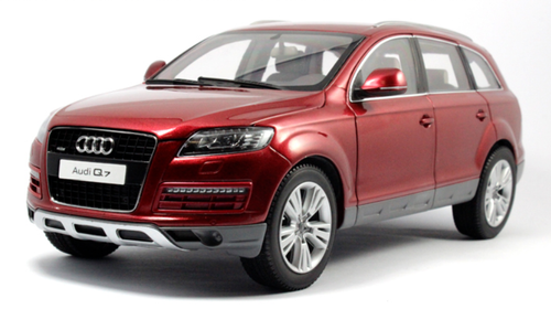 1/18 Kyosho 2009 Audi Q7 (Red) Diecast Car Model