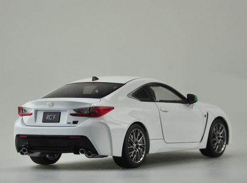 RARE 1/18 Dealer Edition Lexus RC F RCF (White) Diecast Car Model