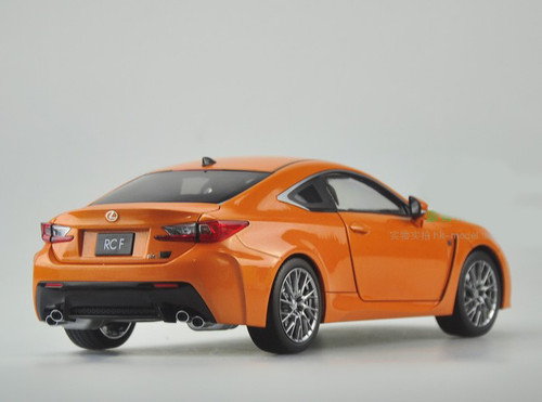 RARE 1/18 Dealer Edition Lexus RC F RCF (Orange)