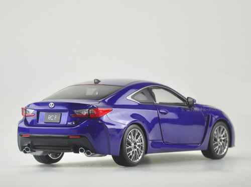 RARE 1/18 Dealer Edition Lexus RC F RCF (Blue) Diecast Car Model