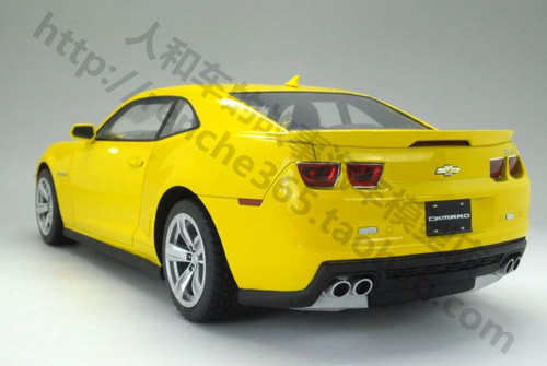 1/18 Resin Hand Made Chevrolet Camaro ZL1 (Yellow)