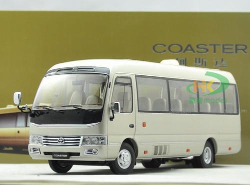 1/24 Dealer Edition Toyota Coaster Bus Diecast Car Model