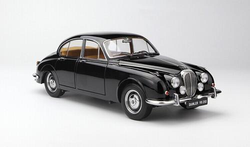 1/18 Paragon Jaguar MK2 Daimler V8 - 250 (Black) Diecast Car Model