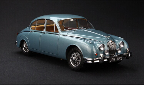 1/18 Paragon Jaguar MK2 Daimler V8 - 250 (Blue) Diecast Car Model