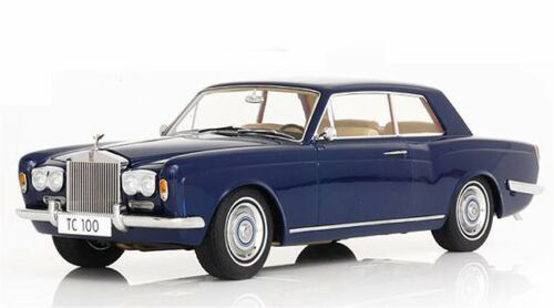 1/18 Paragon 1968 Rolls-Royce Silver Shadow Mulliner Park Ward Coupe (Blue) Diecast Car Model