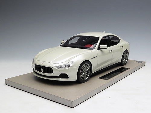 1/18 BBR Top Marques Maserati Ghibli (White)