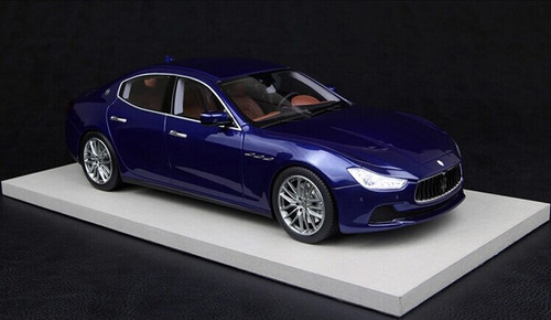 1/18 BBR Top Marques Maserati Ghibli (Blue)